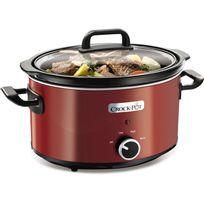 Crock-pot - Mijoteuse électrique 3.5L idéale 4 personnes - Rouge