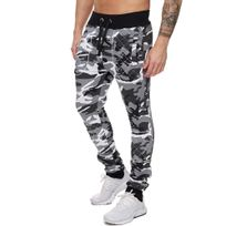 Violento - Jogging homme camouflage Jogging 897 blanc camo
