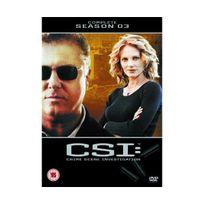 Momentum - Csi: Crime Scene Investigation Complete - Season 3 Import anglais