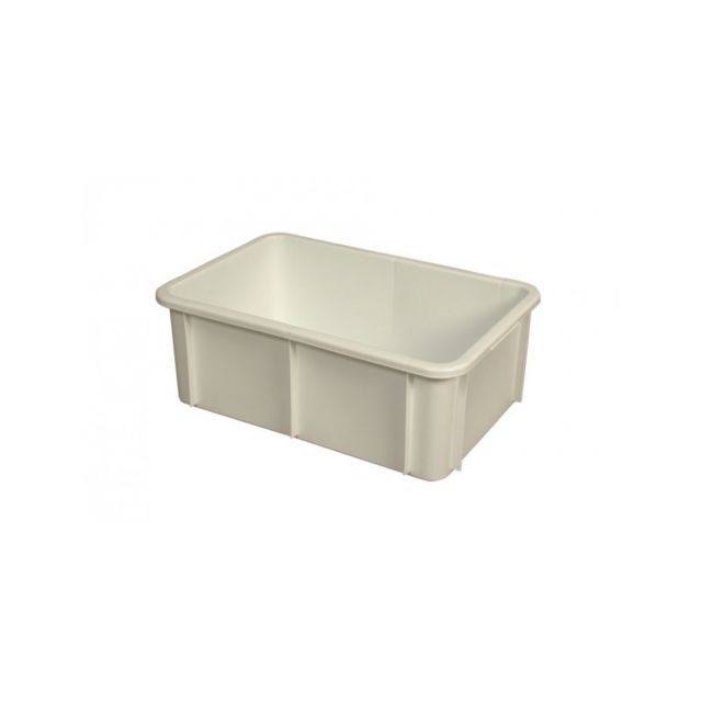 Gilac Bac Rectangulaire Empilable 35 Litres Blanc