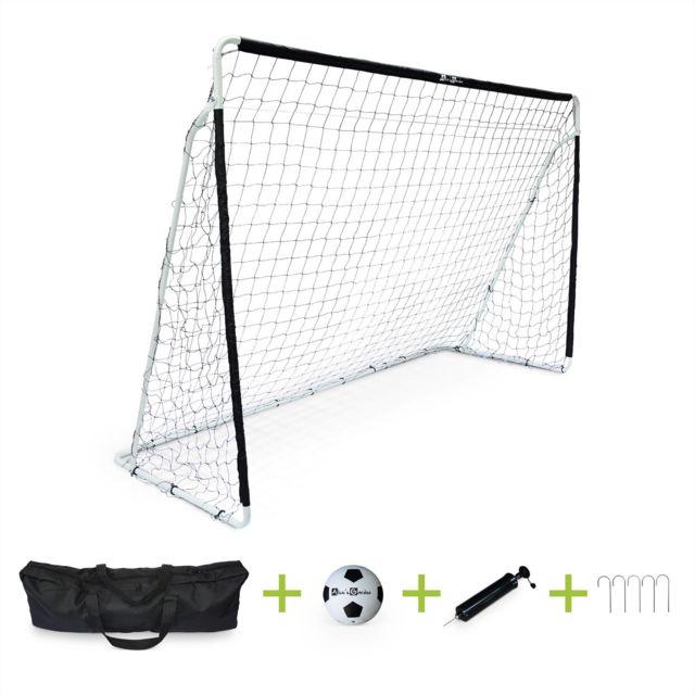 alice 39 s garden cage de football eden taille l en acier 300 x 200 cm but de foot avec ballon. Black Bedroom Furniture Sets. Home Design Ideas