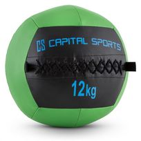 CAPITAL SPORTS - Epitomer Wall Ball 12kg cuir synthétique vert