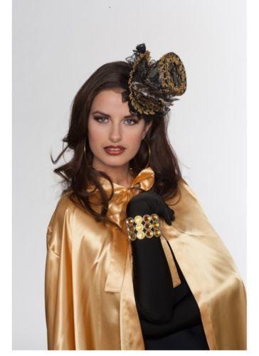 Santex - Chapeau haut sur clip-or noir - pas cher Achat   Vente ... cc95f11c7b3