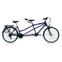 Descheemaker - Velo Tandem Touriste 28' H20 - Bleu
