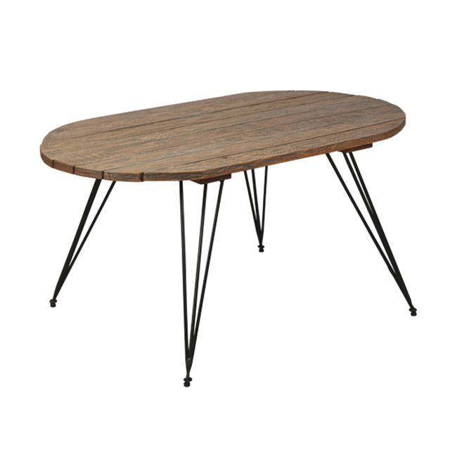 Autre - Table basse en rotin - Suzanna Naturel