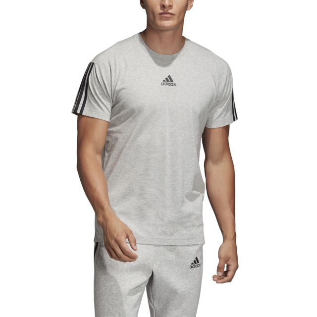 Adidas T shirt Must Haves 3 Stripes pas cher Achat