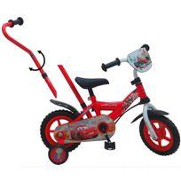 """Vélo enfant avec canne directionnelle - 10"""" - CARS1002JCA"""