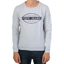 Pepe Jeans - Pull Hector Pb 580529 Grey Marl 913 Lt