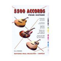 Paul Beuscher - 5500 accords pour guitare
