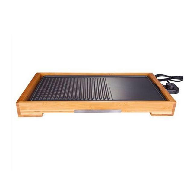 LITTLE BALANCE plancha gril électrique 2000w 51x26cm - 8280
