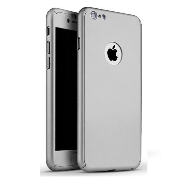 coque iphone 6 360 gris