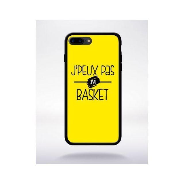 coque iphone 7 jaune silicone