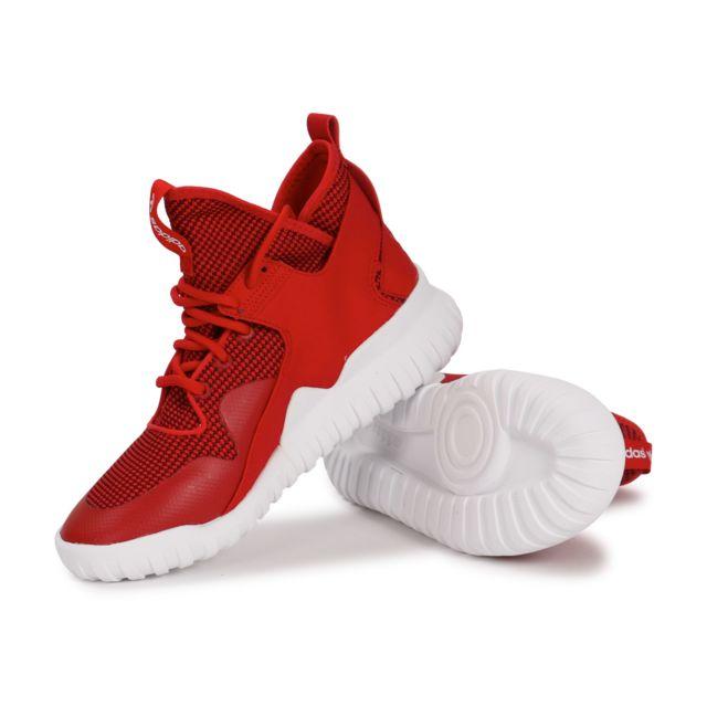 adidas tubular x pk rouge