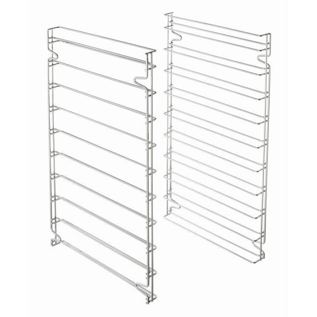 Bartscher Set de deux supports glisssieres aux normes patissieres pour utilisation des 10 plaques 600x400
