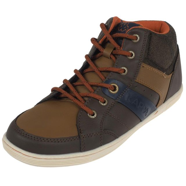 Kappa Chaussures mid mi montantes Geo mid marron k haute