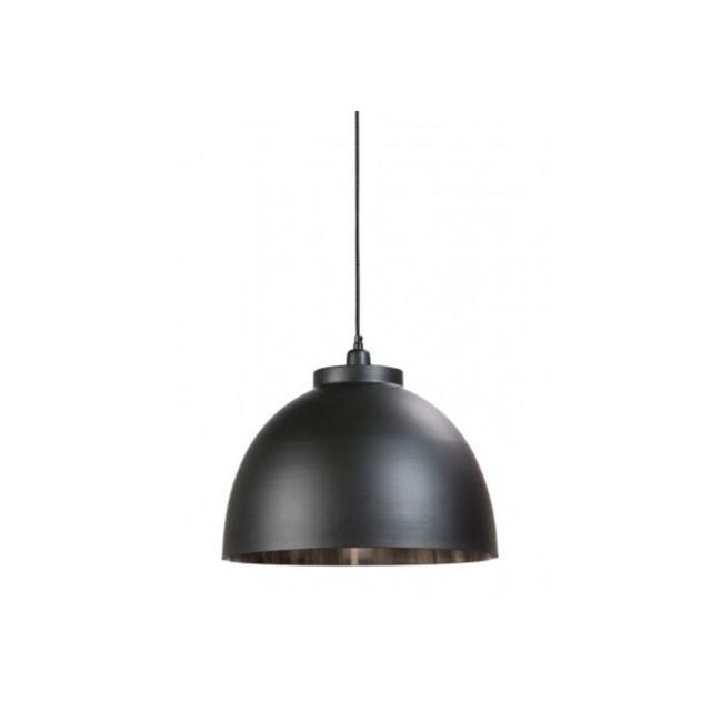 Millumine - Suspension style industriel Argent et noir Contrast ...
