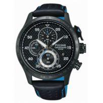 Pulsar - Montre Homme modèle Racing Noire - Pm3045X1 - cadeau idéal