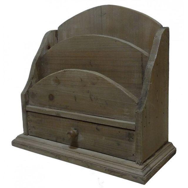 l h ritier du temps porte courrier avec tiroir range. Black Bedroom Furniture Sets. Home Design Ideas