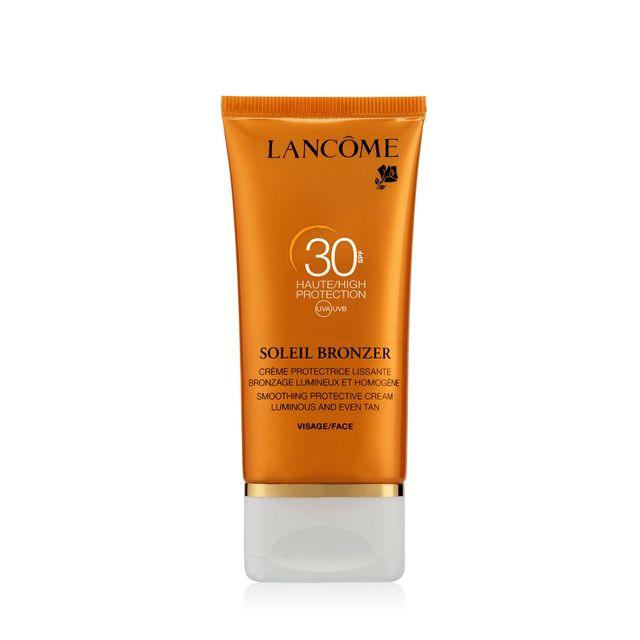 Lancome soleil bronzer de cr me pour le visage spf 30 50ml lanc me pas cher achat vente - Creme pour coup de soleil ...
