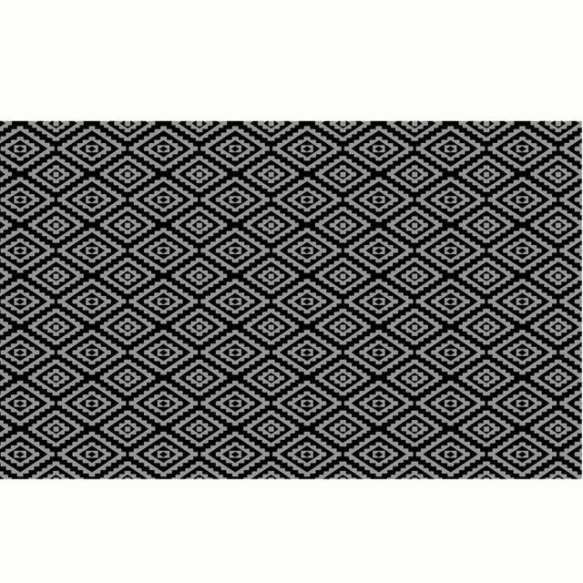 Stof - Tapis d?extérieur Noir en Polypropylène 160 x 260 cm