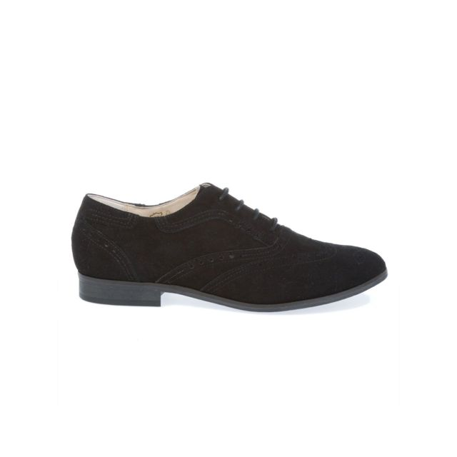 Peperosa Femme N7101NERO Noir SuÈDE Chaussures À Lacets