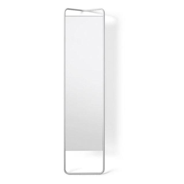 Menu Miroir sur pied KaschKasch - blanc