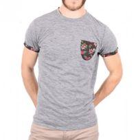 Deeluxe - Tee-shirt Andre Gris Homme
