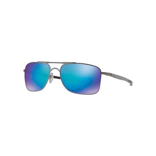 52516c6d293f3a Oakley - Lunettes Gauge 8 M gris avec verres Prizm Sapphire Polarized miroir