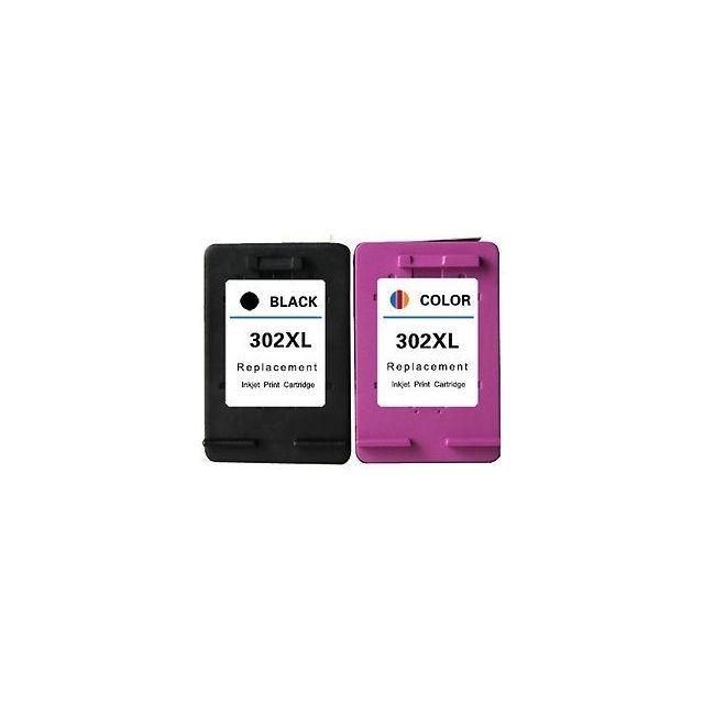 Tremendous Duo De Cartouches Dencre N0 302 Xl Noir Et Couleur Qualite Premium Pour Imprimante Hp Deskjet 2132 Interior Design Ideas Gentotryabchikinfo