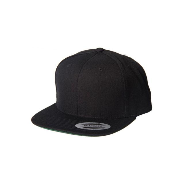 la meilleure attitude 01e61 66d7e Fake - Yupoong - Casquette Snapback Classic Flexfit Cap ...
