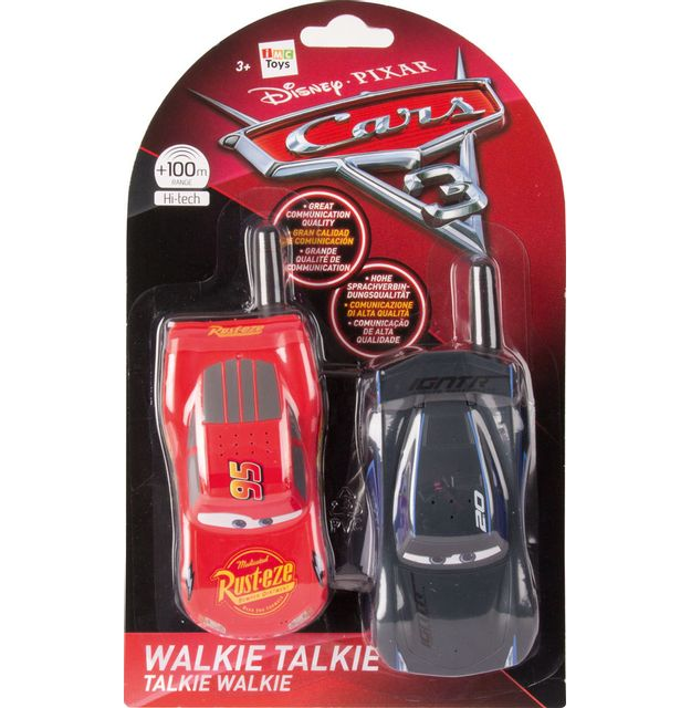 IMC TOYS - Talkie Walkie - CARS 3 - 250802