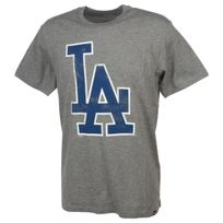 47 Brand - Tee shirt manches courtes Los angeles dodge mc gris Gris 12310