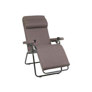 lafuma fauteuil relax multiposition pliant en acier et polyester velvet touch rpl pas cher. Black Bedroom Furniture Sets. Home Design Ideas