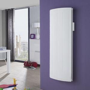 atlantic radiateur bloc aluminium inertie nirvana 1500w vertical 1 500 w pas cher achat. Black Bedroom Furniture Sets. Home Design Ideas