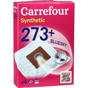 carrefour sacs aspirateur synthetic 273 bluesky pas cher achat vente sacs aspirateur. Black Bedroom Furniture Sets. Home Design Ideas