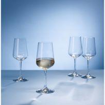 Villeroy  Boch - Lot de 4 verres à Vin Blanc Ovid - Villeroy & Boch