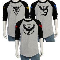 - T-shirt manche longues Pokemon go