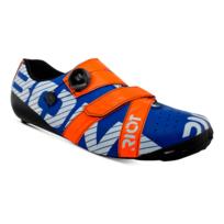 Bont - Chaussures Riot+ Road Boa bleu rouge