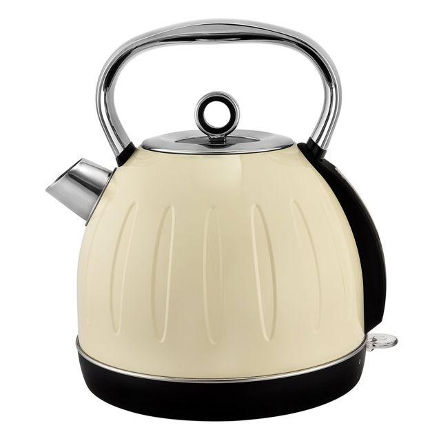 KALORIK Bouilloire retro crème BPA free - TKG JK 2500