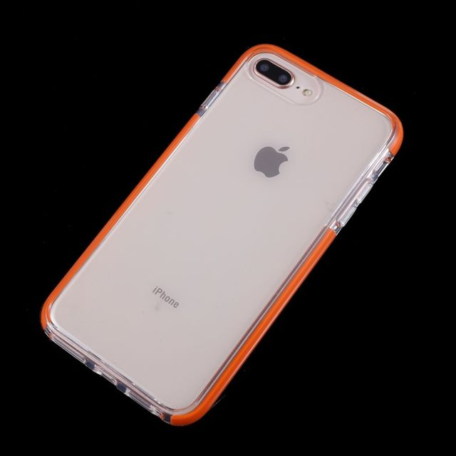 coque iphone 8 plus apple orange