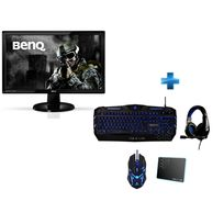 BENQ - Ecran GL2450HE + Pack THE G-LAB COMBO300/FR