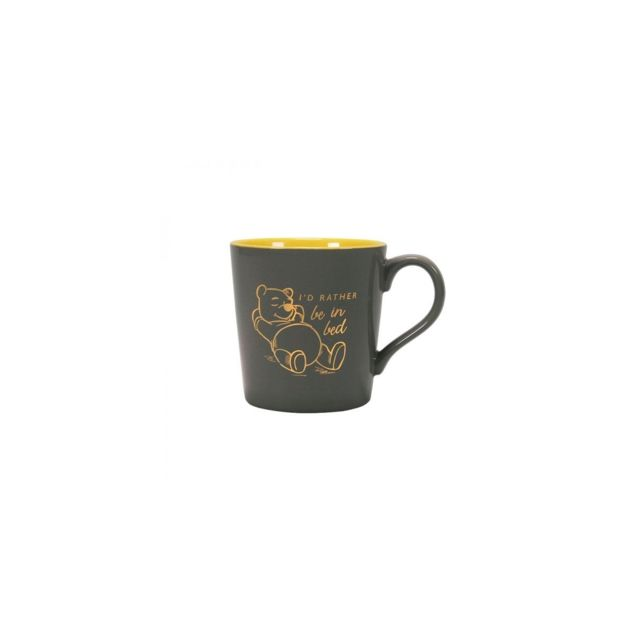 NEW .... BOXED MUG WINNIE THE POOH..Tapered Mug ...I Would Rather be in Bed
