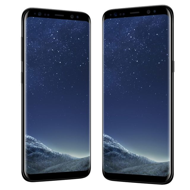 Samsung - Galaxy S8 - 64 Go - Noir Carbone - Reconditionné