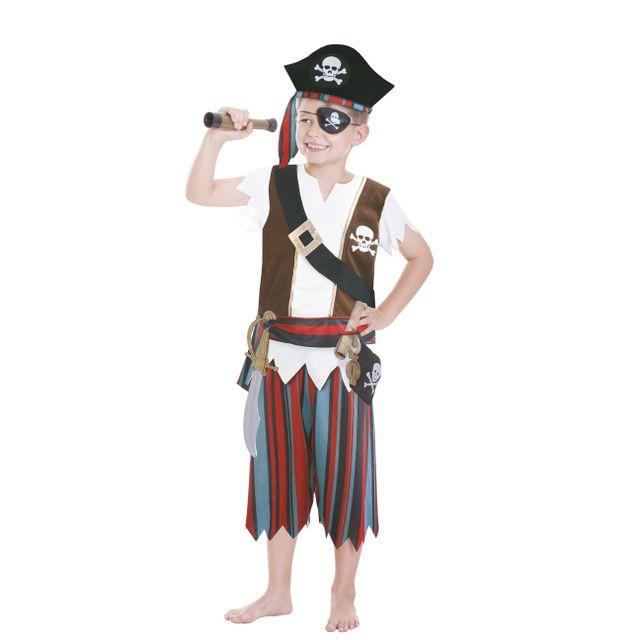 AMSCAN - Costume Pirate 3/6 ans - CCS00008 5-6 ans - 5-6 ans