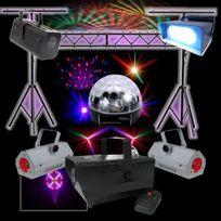Ibiza Light - Pack Light SpÉCIAL Dj + Portique De 3 Mètres + 5 Jeux De LumiÈRE