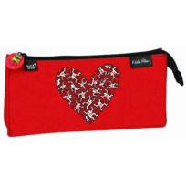 Quo Vadis - Keith Haring Fourre-tout Rectangulaire Coeur Rouge