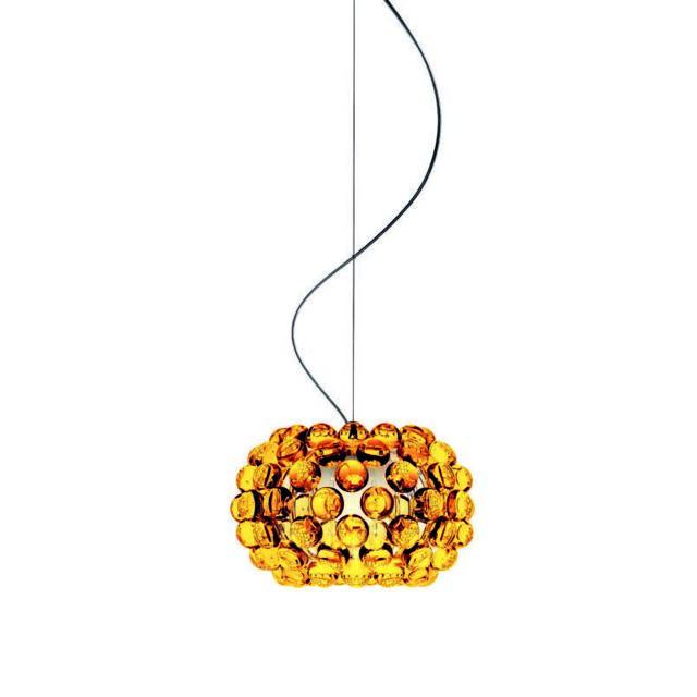 Suspension Caboche - gold - piccola Ø 31 x 20 cm