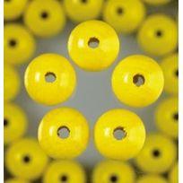 Efco - Lot De 80 Perles En Bois Diam. 8 Mm - Neuf