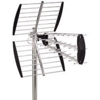 Hd-Line - Antenne Uhf Trinappe Tnt Hd Argent