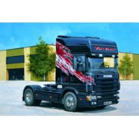 Italeri - I3819 - Maquette - Voiture Et Camion - Scania 164L Top Class 580 - Echelle 1:24